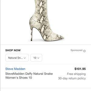 Brand new Steve Madden women's shoes